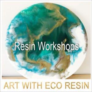 Hazy Tales Resin Art Workshops 1