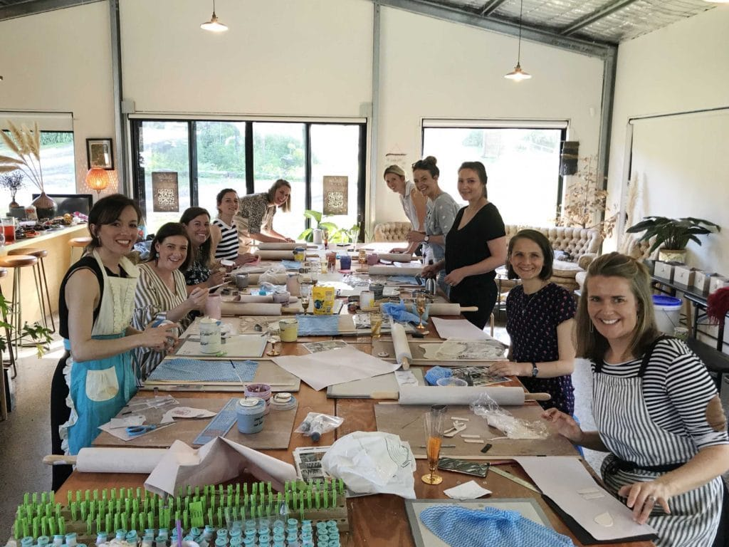 Hen Party Hazy Tales Pottery What to do in Geelong