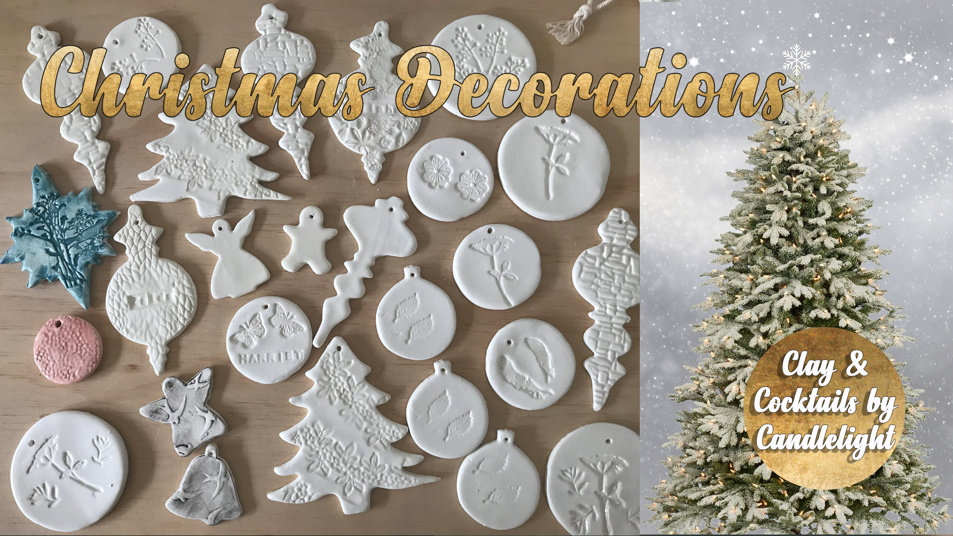 Pottery Class - Christmas Decorations