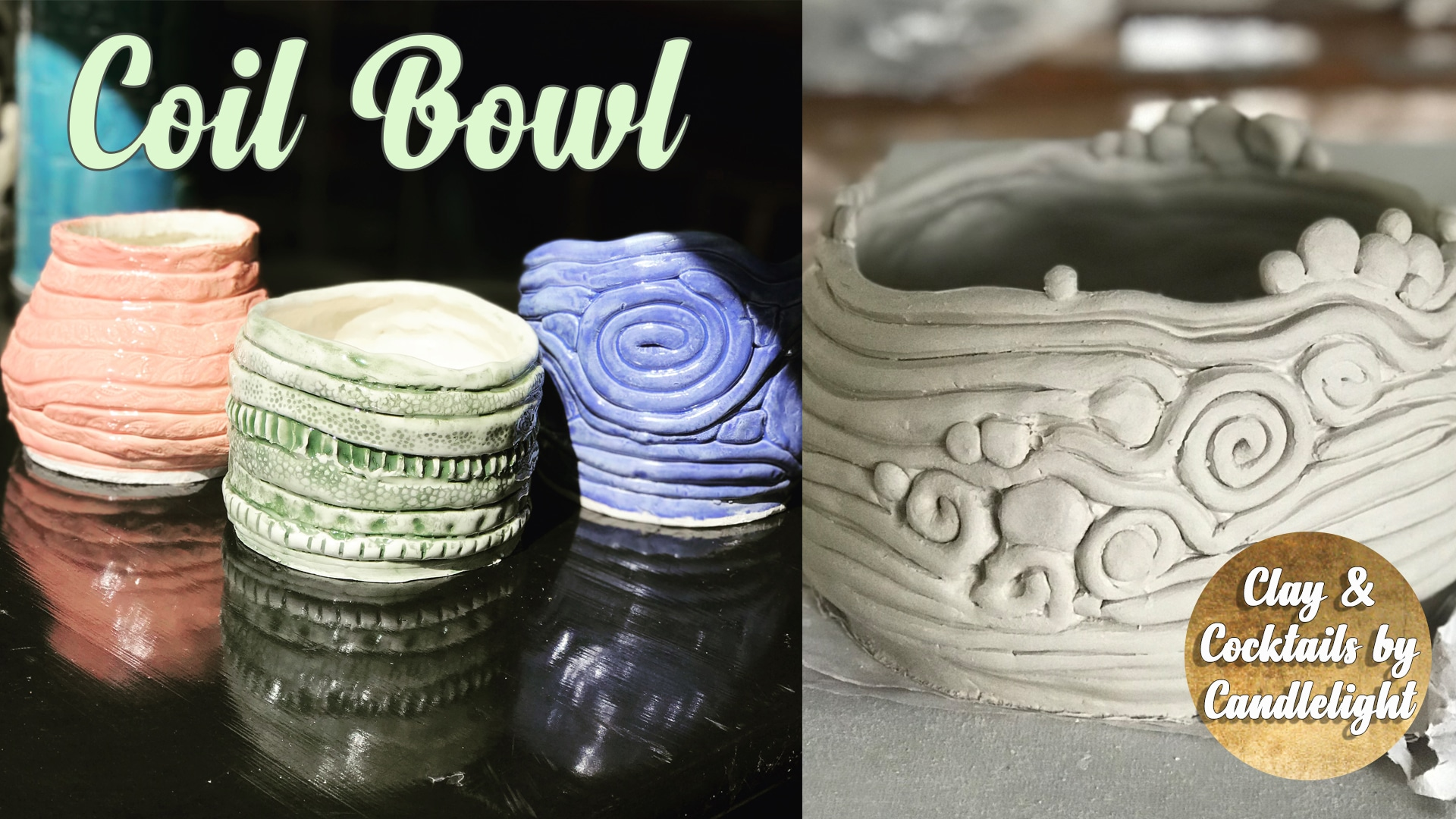 Pottery Class - Coil Bowl