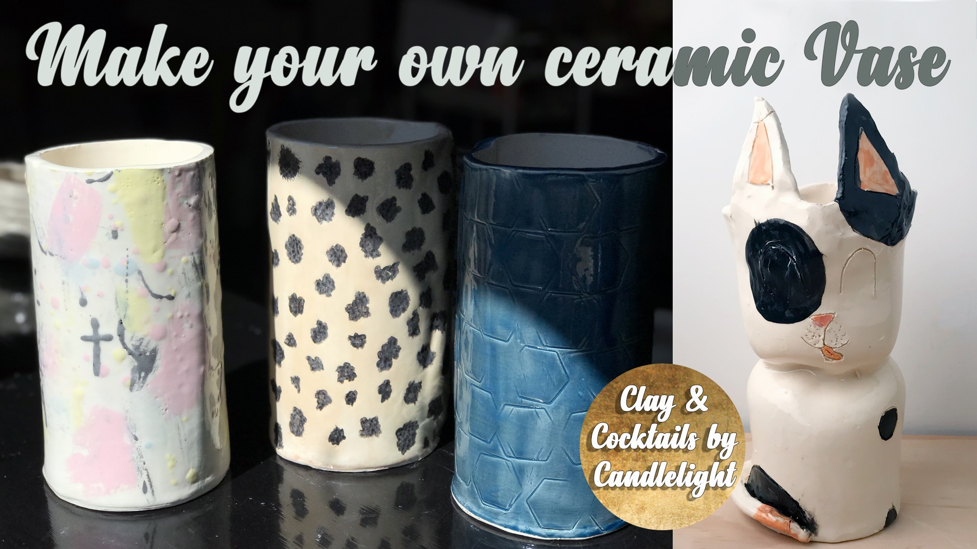 Pottery Class - Make Your Own Ceramic Vase