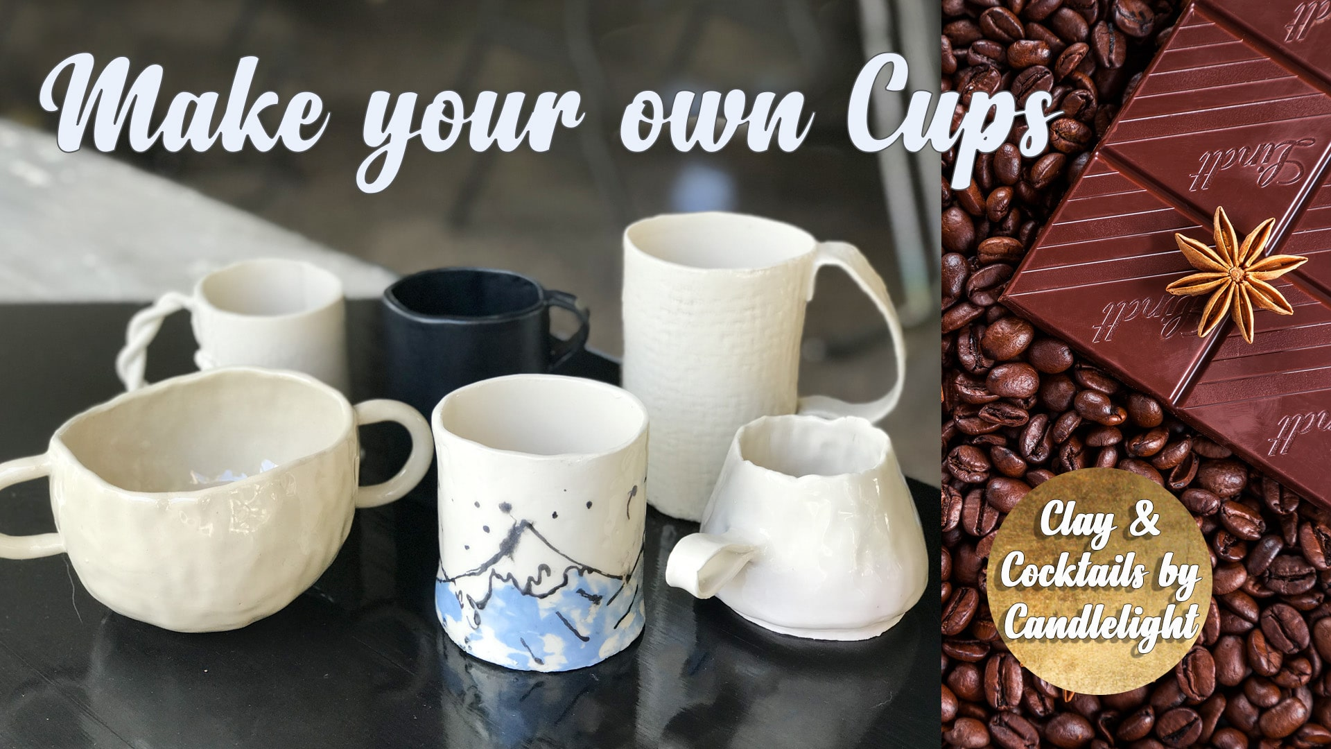 Pottery Class - Make Your Own Cups